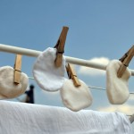 cotons lavables