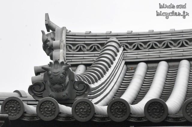 Asakusa temple tokyo detail toit