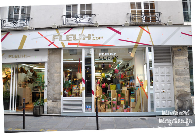 Fleux, jolie boutique à Paris