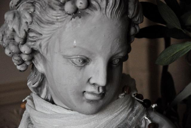 """Le buste qui décore la chambre """"Nuptiale"""""""