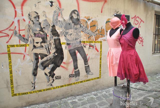Street art Marais Paris