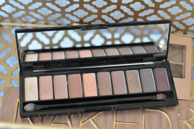 La palette Nude de l'Oréal: avis et détail sur le blog Maquillage et beaux objets