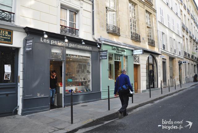 Paris quartier le Marais