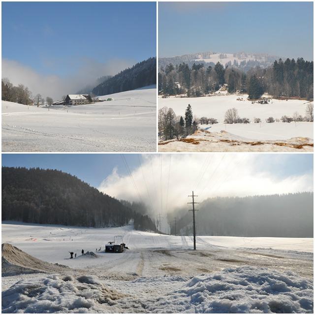Vallee des Ponts de Martel et de la Sagne- Pays de Neuchatel - Suisse
