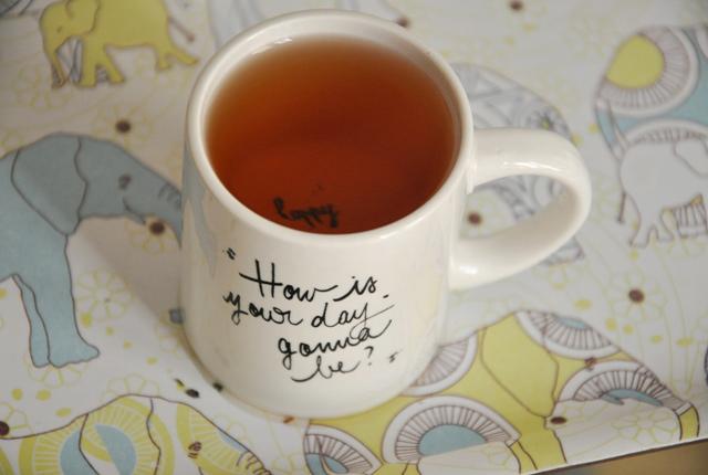 Tasse de thé - Billet sur le blog autour de mes thés favoris de blogueuse
