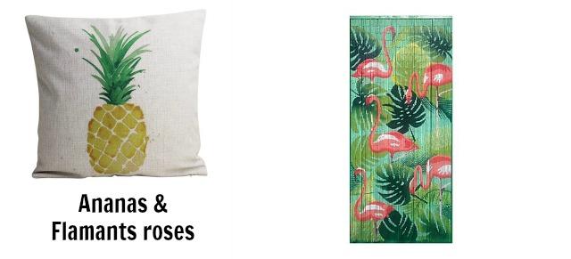 Ananas & Flamants roses