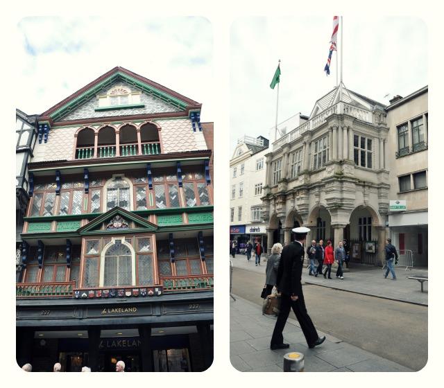 Exeter facades
