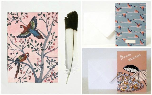 cartes oiseaux