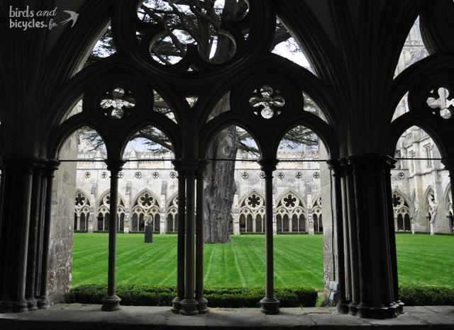 Cloitre de la cathédrale de Salisbury