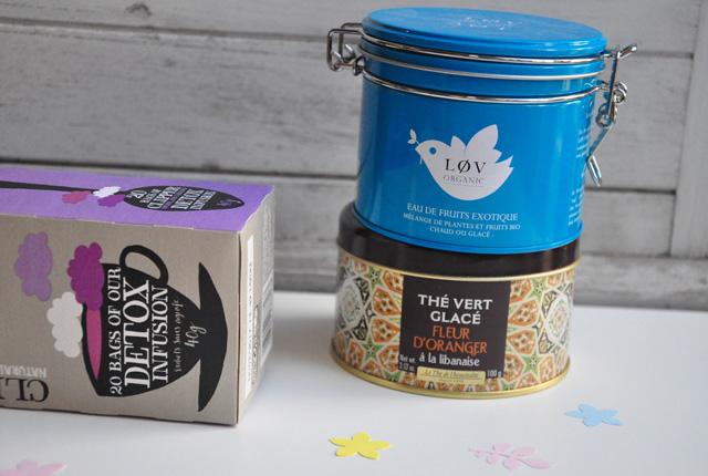 Mélanges de thés pour l'été
