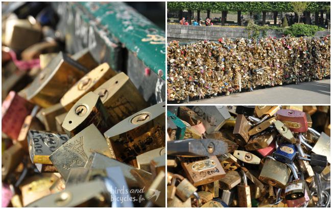Pont des Arts - Cadenas des amoureux