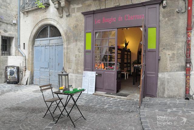 Découverte de la boutique des Bougies de Charroux à Montpellier,