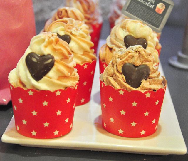 Des cupcakes pour le bain