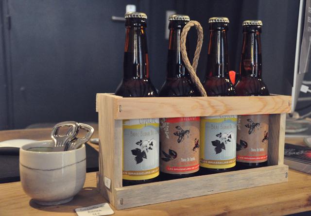 Des bières régionales