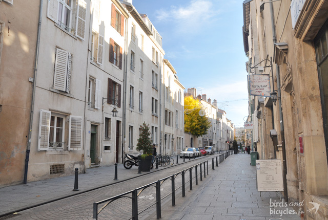 Dans les rues de Nancy