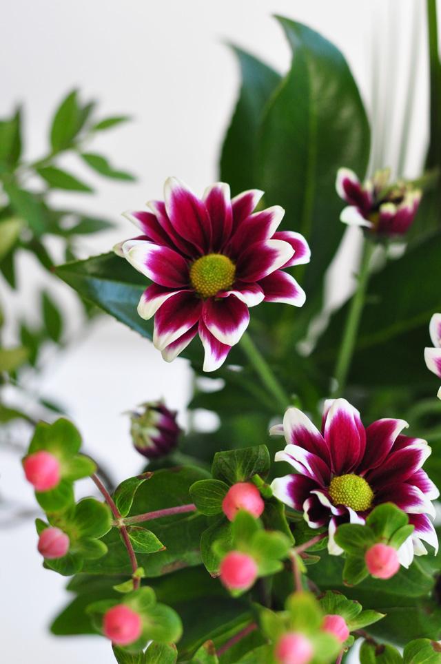 Petits bonheurs: un bouquet de fleurs!