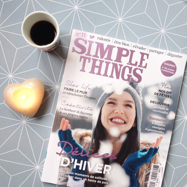 Le magazine Simple Things, version française