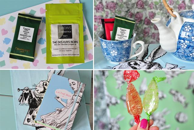 J'ai testé la thé box, le coffret de thés mensuel