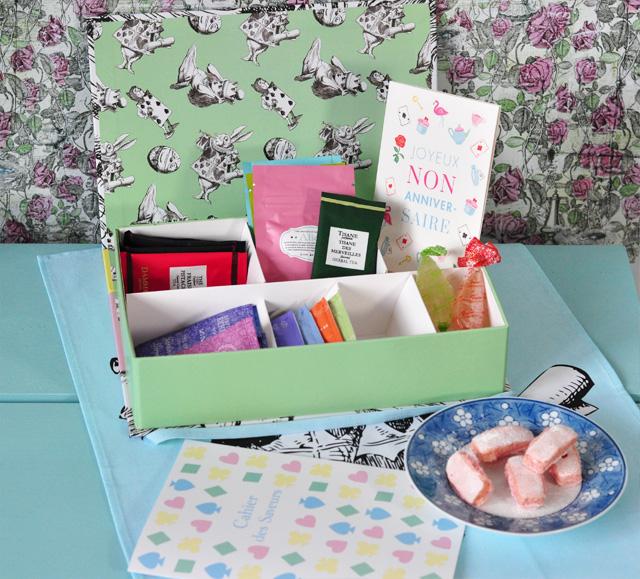 """Coffret """"la thé box"""" sur le blog!"""