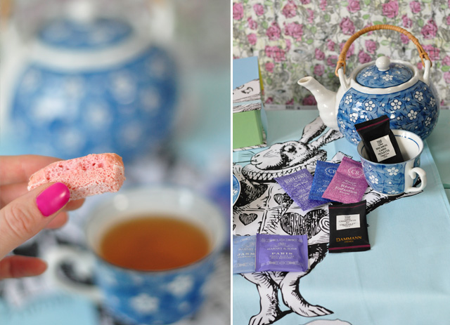 Une tasse de thé avec Alice au pays des merveilles...