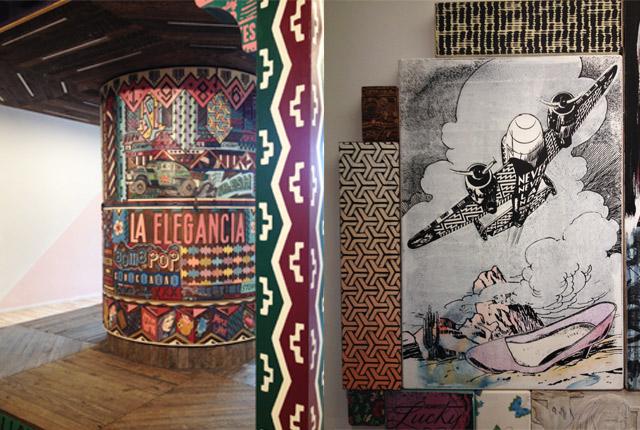 Faile: le duo d'artiste exposé au Mima