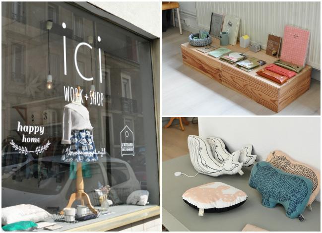 Ici Work + Shop : jolie boutique à Nancy