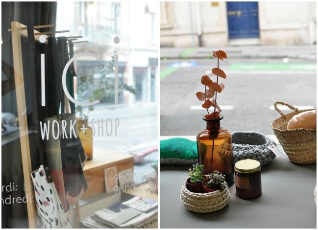 Ici Work + Shop : boutique déco à Nancy
