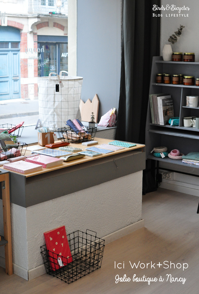 Ici work shop jolie boutique nancy birds and bicycles - Magasin deco nancy ...
