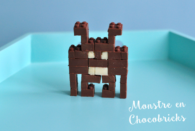 Mon monstre en chocobricks