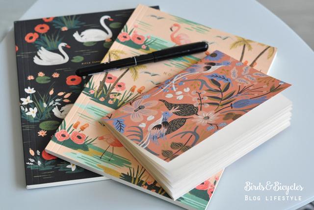 Papeterie: coup de coeur pour des jolis carnets