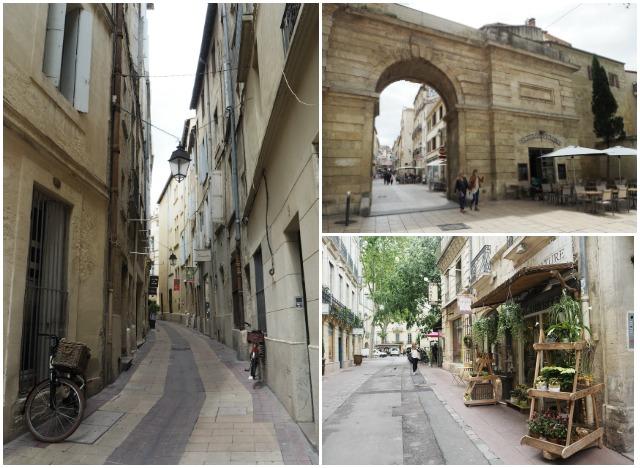 Dans les rues de Montpellier