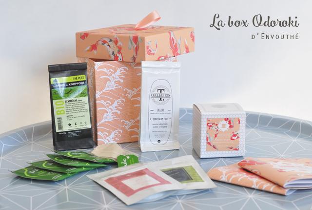 Test de box de thés japonais blog féminin