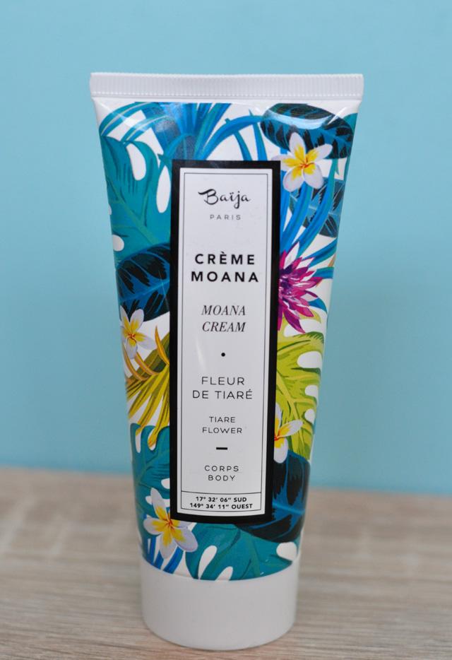 Crème Moana à la fleur de tiaré de Baija