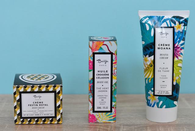 Baija: Tests de cosmétiques sur le blog - la marque Baija et ses produits gourmands