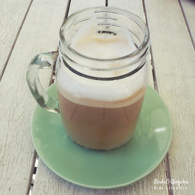 Latte glacé au downtown montreal