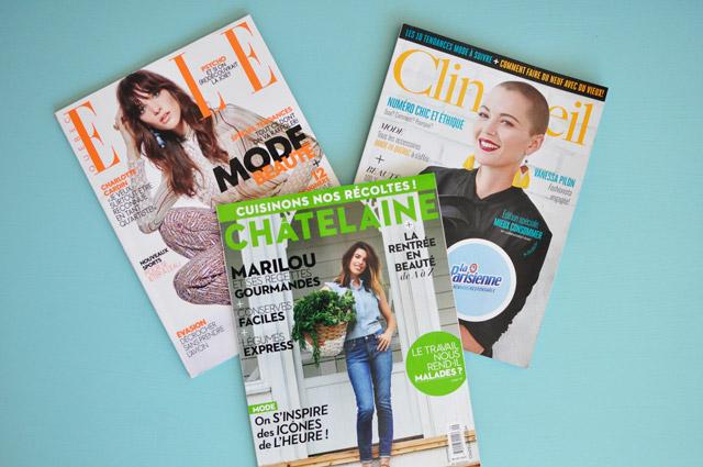 Des magazines québécois