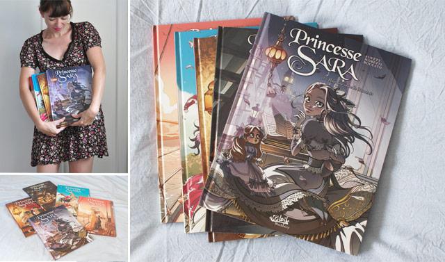 Coup de coeur pour la série de BD Princesse Sara