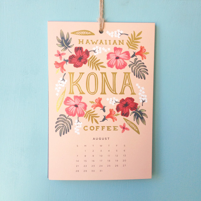 calendrier rifle paper co petits bonheurs blog lifestyle birds-and-bicycles