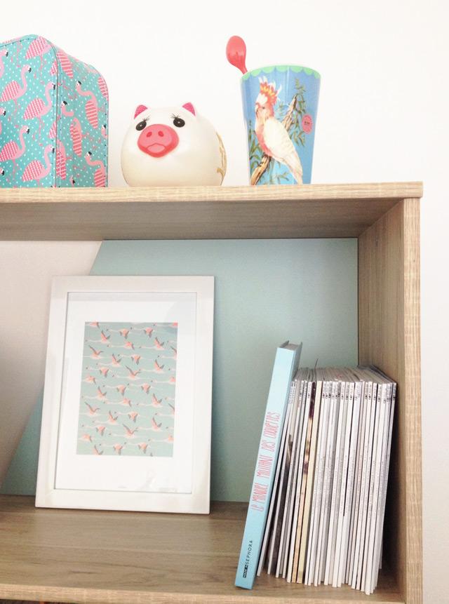 Affiche Season Paper flamants en déco - petits bonheurs blog lifestyle Birds and Bicycles