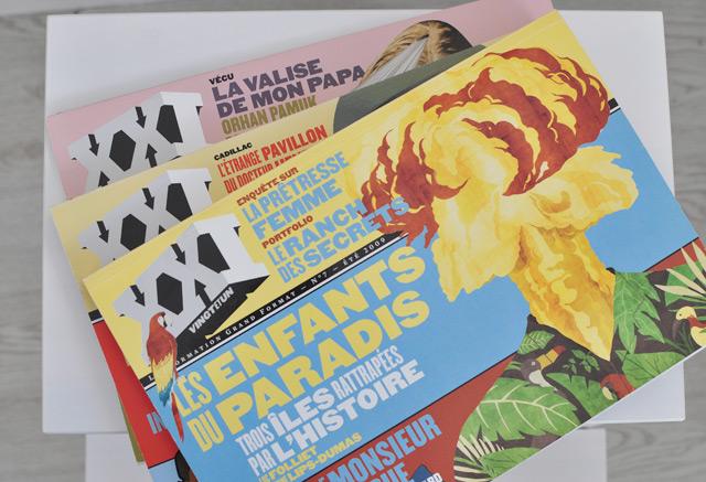 Revue XXI - Trois tomes de la revue aux reportages grand format!