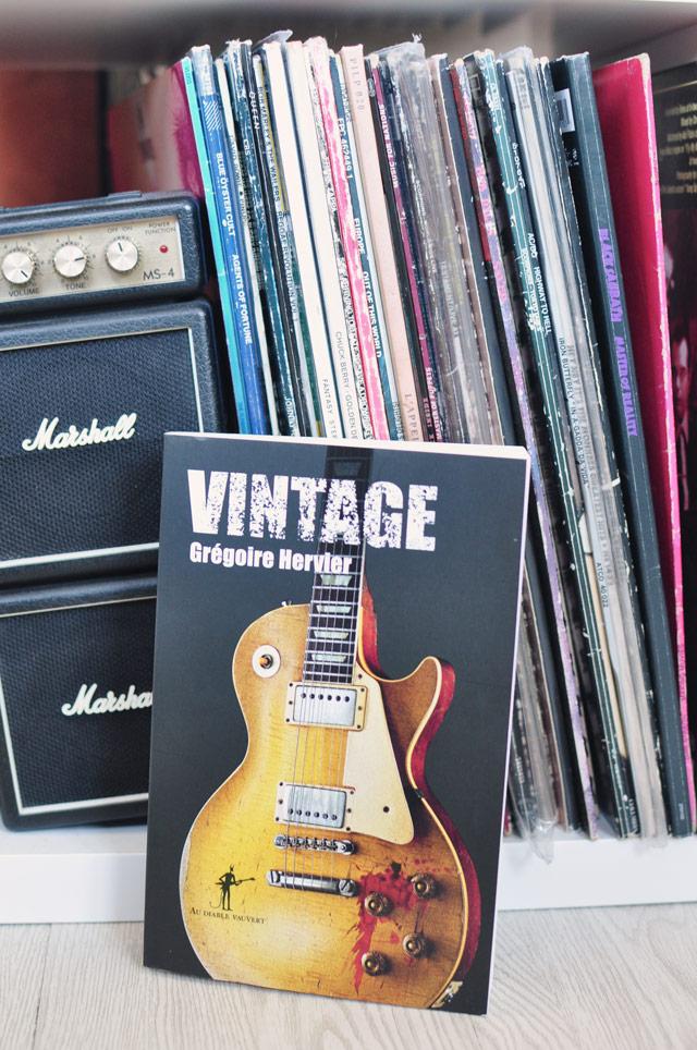 Polar rock & culte: Vintage! Mon avis sur ce roman à ne pas manquer si vous aimez le rock