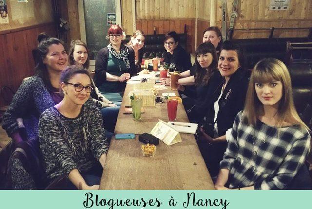 Des blogueuses de Nancy réunies pour une rencontre lors de l'apéro organisé par Lady Beth!