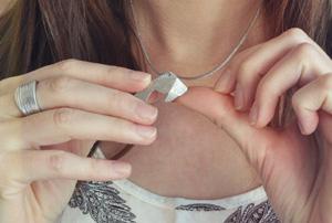 Les bijoux Joligami, comme des origamis!