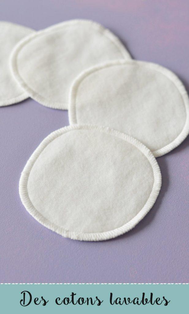 Beauté naturelle - Des cotons lavables pour se démaquiller zéro déchet