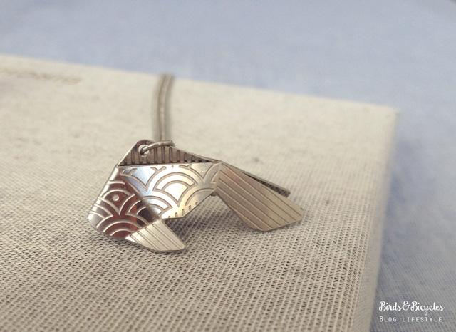 Bijou origami: les pendentifs de Joligami, marque de Lausanne (Suisse)