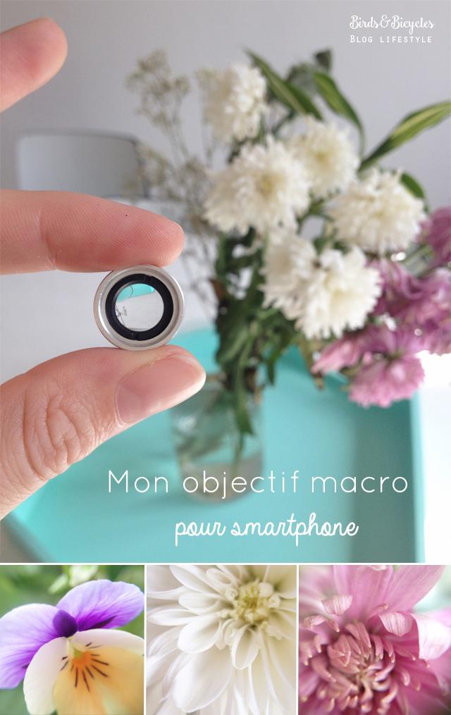 Photo: Objectif macro pour smartphone