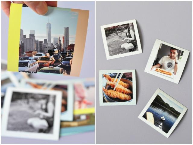 Aimants photo imprimes en ligne