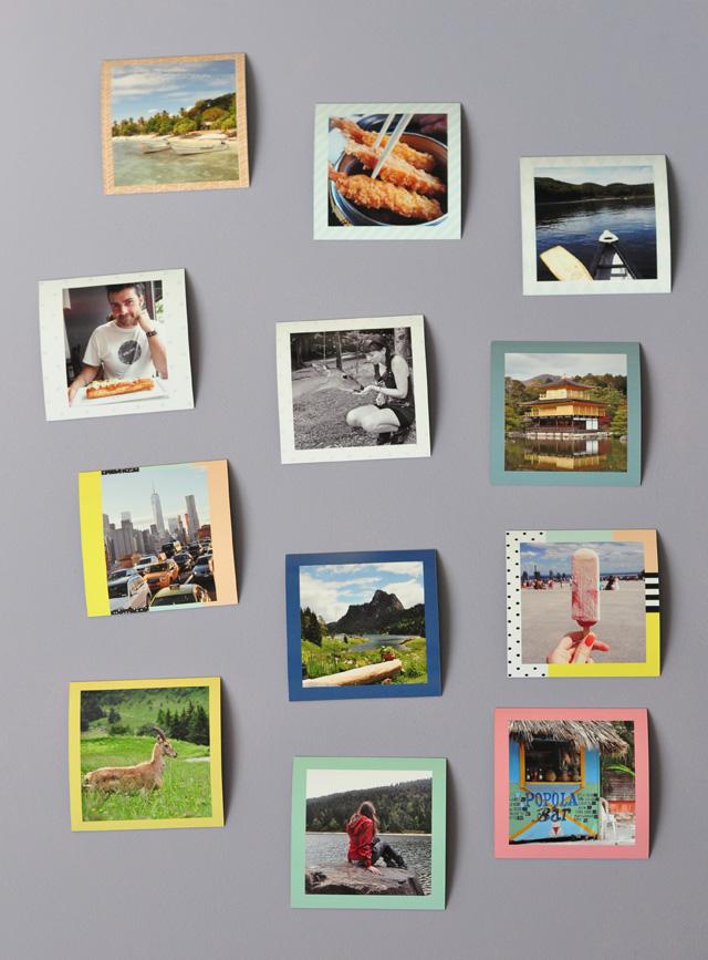 Aimants photos a faire imprimer - un grand choix de designs
