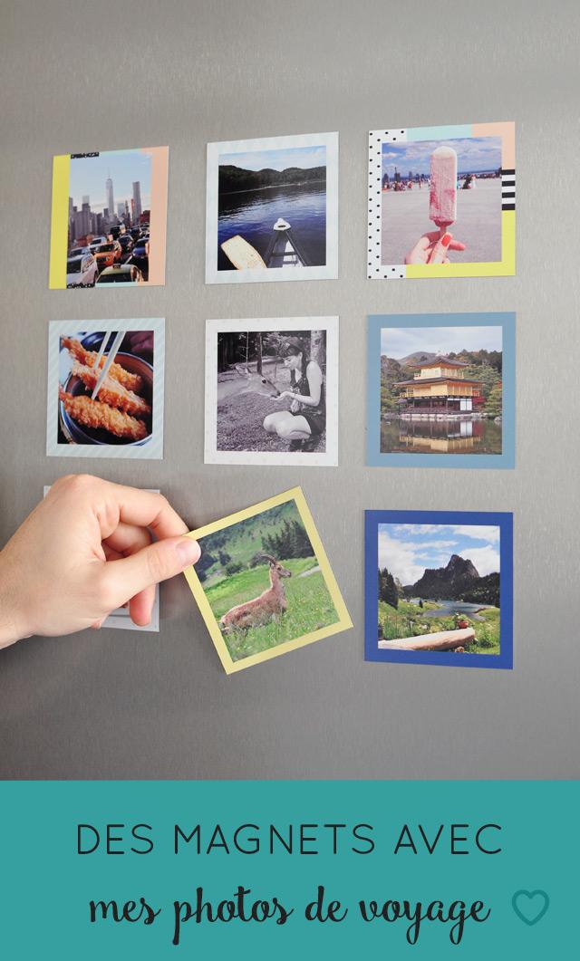 Imprimer des magnets avec mes photos