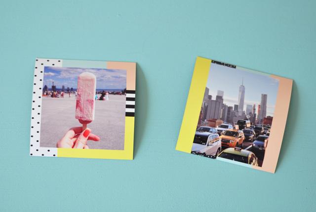 Photos en magnets!